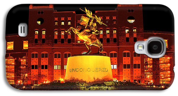 Universities Digital Art Galaxy S4 Cases - Chief Osceola and Renegade Unconquered Galaxy S4 Case by Frank Feliciano