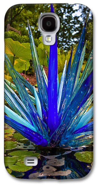 Cheekwood Galaxy S4 Cases - Chihuly Lily Pond Galaxy S4 Case by Diana Powell
