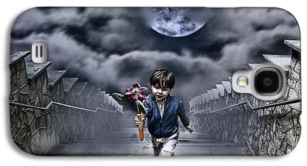 Child Of The Moon Galaxy S4 Case by Joachim G Pinkawa
