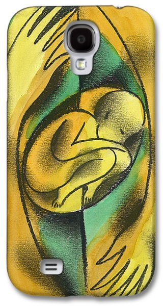 Bonding Galaxy S4 Cases - Childbirth Galaxy S4 Case by Leon Zernitsky