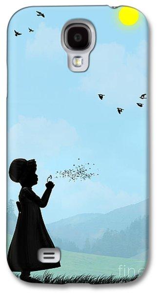 Childhood Dreams One O Clock Galaxy S4 Case by John Edwards