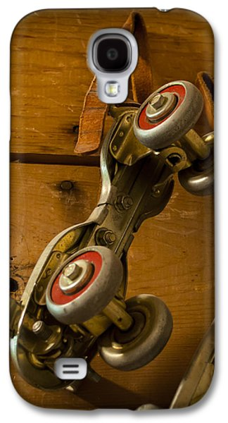 Antique Skates Galaxy S4 Cases - Childhood Moments Galaxy S4 Case by Fran Riley