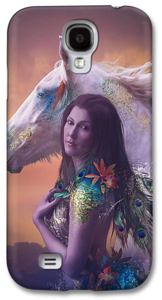 Children Of Rihm Galaxy S4 Case by Cassiopeia Art