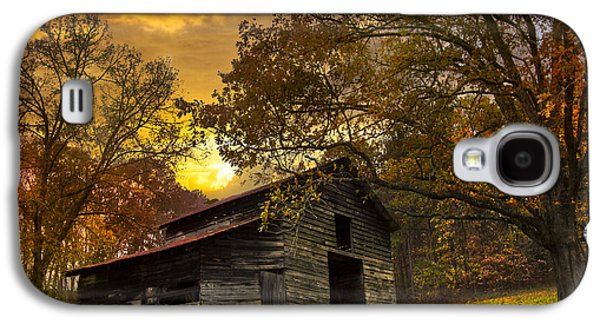 Tennessee Farm Galaxy S4 Cases - Chill of an Early Fall Galaxy S4 Case by Debra and Dave Vanderlaan