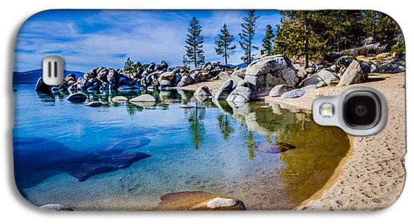 Limited Galaxy S4 Cases - Chimney Beach Lake Tahoe Shoreline Galaxy S4 Case by Scott McGuire