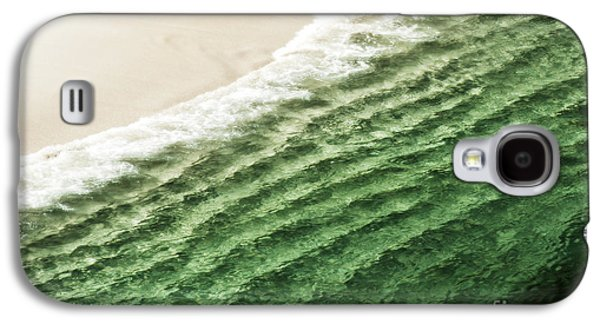 Famous Highway 1 In California Galaxy S4 Cases - China Beach Wave Galaxy S4 Case by Artist and Photographer Laura Wrede