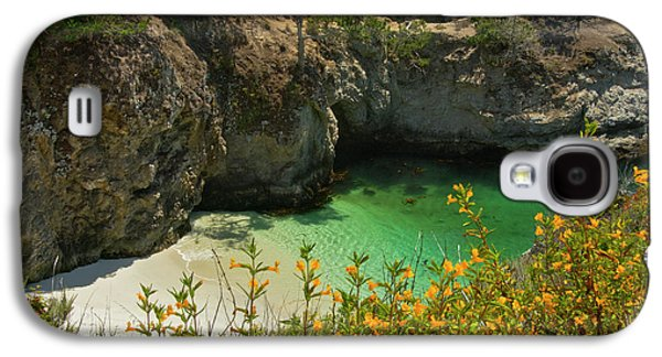 China Cove And Beach, Point Lobos State Galaxy S4 Case by Michel Hersen