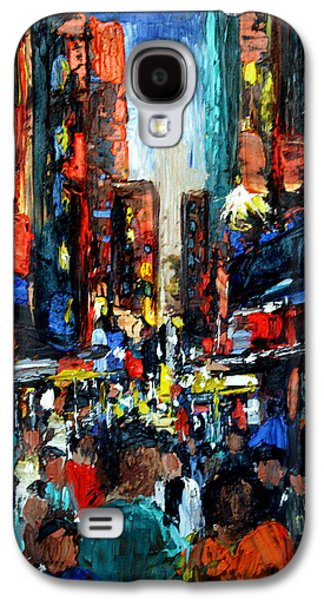 Building Metal Prints Galaxy S4 Cases - China Town Galaxy S4 Case by Anthony Falbo