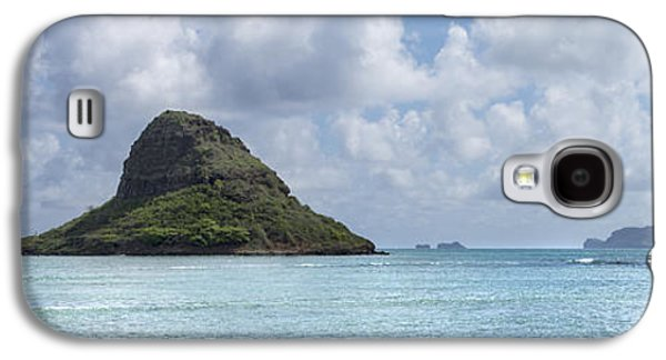 China Beach Galaxy S4 Cases - Chinamans Hat Panorama - Oahu Hawaii Galaxy S4 Case by Brian Harig