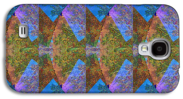 Graph Mixed Media Galaxy S4 Cases - Chinese Japanese Ladies in rythem dance or  Moon Arc Show is an  abstract presentation  Moon is very Galaxy S4 Case by Navin Joshi