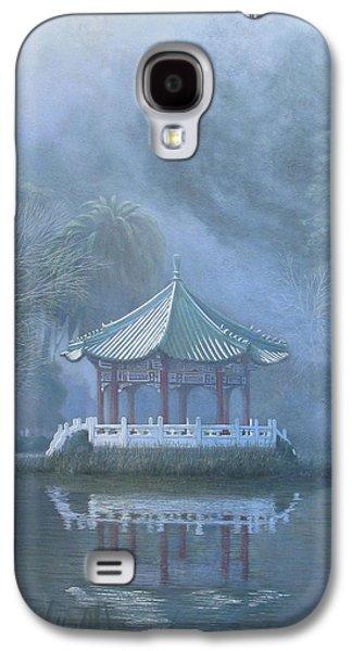 Leonard Filgate Paintings Galaxy S4 Cases - Chinese Pavilion Galaxy S4 Case by Leonard Filgate