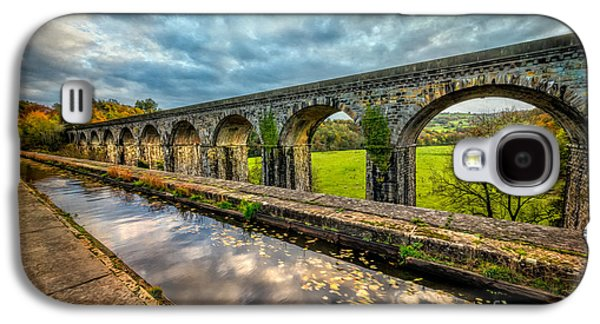 Walkway Digital Art Galaxy S4 Cases - Chirk Aqueduct 1801 Galaxy S4 Case by Adrian Evans