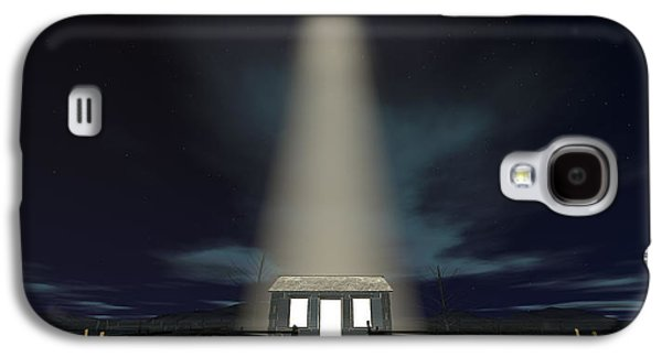 Star Of Bethlehem Galaxy S4 Cases - Chistmas Stable In Bethlehem Galaxy S4 Case by Allan Swart