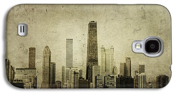70s Galaxy S4 Cases - Chitown Galaxy S4 Case by Andrew Paranavitana