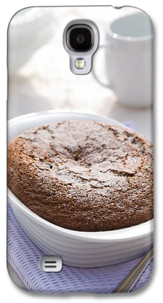 Table Cloth Galaxy S4 Cases - Chocolate Pudding Galaxy S4 Case by Amanda And Christopher Elwell