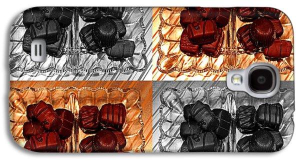 Digital Ceramics Galaxy S4 Cases - Chocolates Galaxy S4 Case by Barbara Griffin