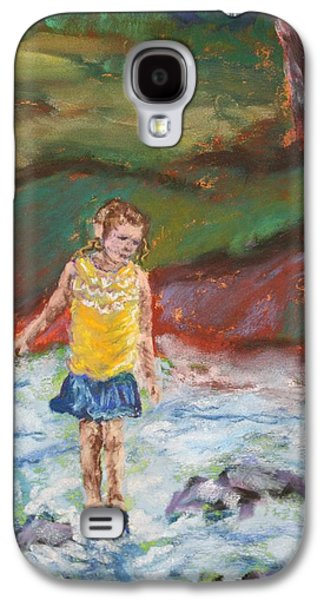 Waterscape Pastels Galaxy S4 Cases - Choose Your Step Galaxy S4 Case by Linda Eversole