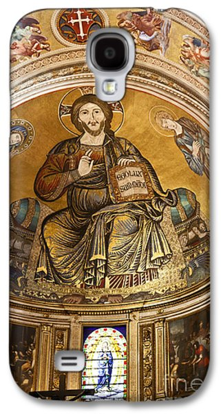 St John The Evangelist Galaxy S4 Cases - Christ in Majesty  Pisa duomo Galaxy S4 Case by Liz Leyden