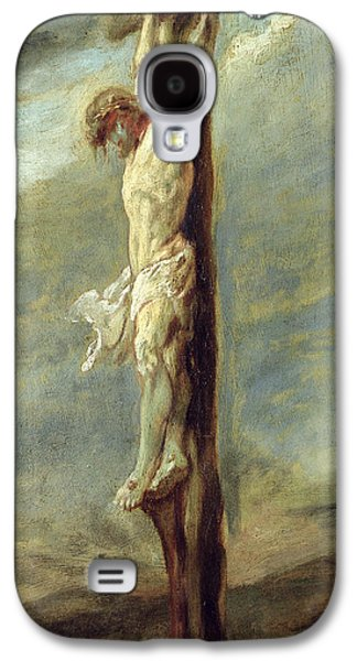 Christ On The Cross Galaxy S4 Case by Rubens