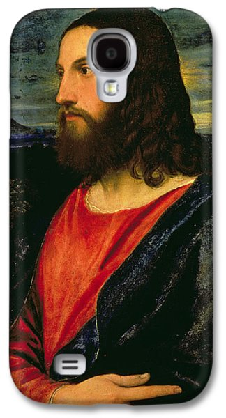 Renaissance Paintings Galaxy S4 Cases - Christ the Redeemer Galaxy S4 Case by Titian