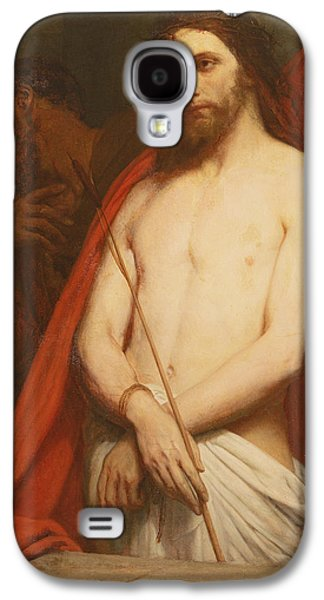 Jesus Photographs Galaxy S4 Cases - Christ With The Reed Oil On Canvas Galaxy S4 Case by Ary Scheffer