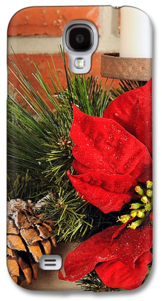 Candle Stand Galaxy S4 Cases - Christmas decor close Galaxy S4 Case by Kenneth Sponsler
