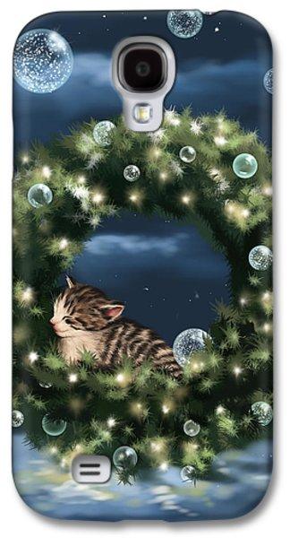 Christmas Art Galaxy S4 Cases - Christmas dream Galaxy S4 Case by Veronica Minozzi