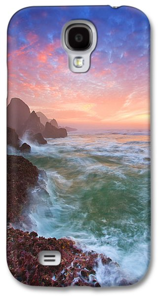 Christmas Eve Sunset Galaxy S4 Case by Darren  White