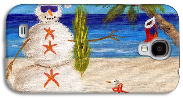 Twiggy Galaxy S4 Cases - Christmas Sandman Galaxy S4 Case by Jamie Frier