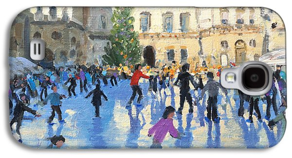 Pastimes Galaxy S4 Cases - Christmas Somerset House Galaxy S4 Case by Andrew Macara