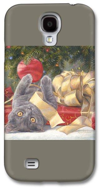 Christmas Surprise Galaxy S4 Case by Lucie Bilodeau