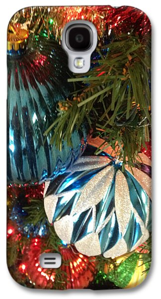 Janet Felts Galaxy S4 Cases - Christmas Time Galaxy S4 Case by Janet Felts