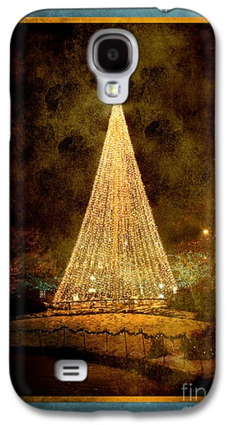 Christmas Tree In The City Galaxy S4 Case by Cindy Singleton