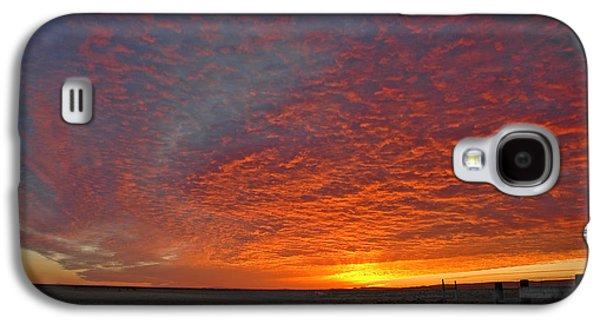 Sun Galaxy S4 Cases - Christmas Valley Sunrise Galaxy S4 Case by Nick  Boren