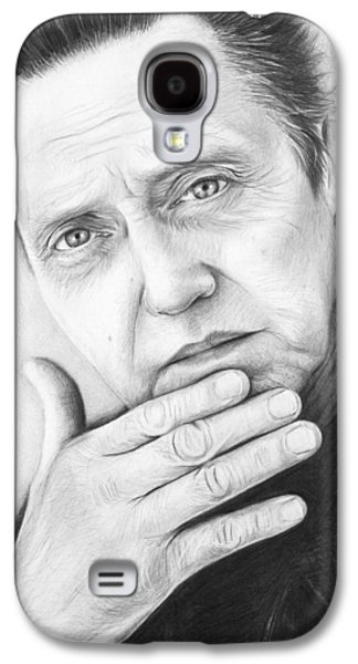 Christopher Walken Galaxy S4 Case by Olga Shvartsur