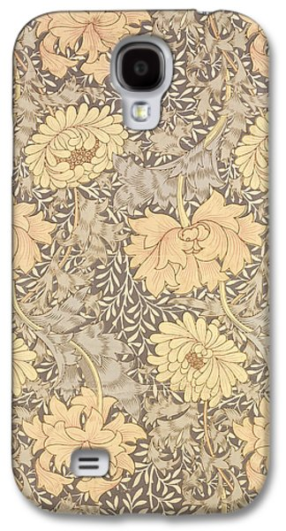 Floral Tapestries - Textiles Galaxy S4 Cases - Chrysanthemum Galaxy S4 Case by William Morris