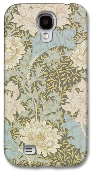 Food And Beverage Tapestries - Textiles Galaxy S4 Cases - Chrysanthemums Galaxy S4 Case by William Morris