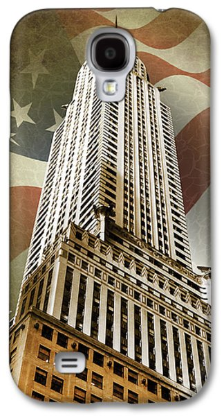 Landmarks Photographs Galaxy S4 Cases - Chrysler Building Galaxy S4 Case by Mark Rogan
