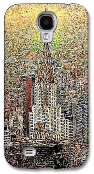 Wing Chee Tong Galaxy S4 Cases - Chrysler Building New York City 20130425 Galaxy S4 Case by Wingsdomain Art and Photography