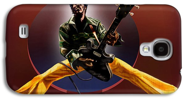Chuck Berry - This Is How We Do It Galaxy S4 Case by Reggie Duffie