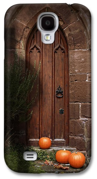 Creepy Galaxy S4 Cases - Church Door At Halloween Galaxy S4 Case by Amanda And Christopher Elwell