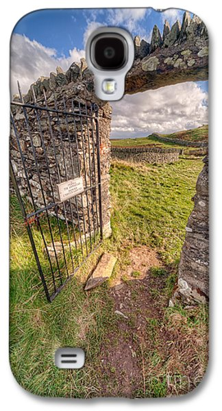 Sheep Digital Galaxy S4 Cases - Church Gate Galaxy S4 Case by Adrian Evans