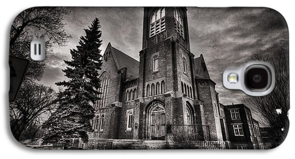Gothic Galaxy S4 Cases - Church Gothic Galaxy S4 Case by Ian MacDonald