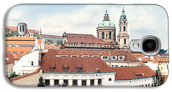 Nicholas Galaxy S4 Cases - Church In A City, St. Nicholas Church Galaxy S4 Case by Panoramic Images