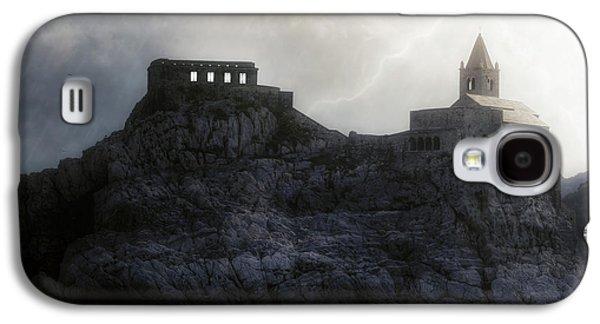 Creepy Galaxy S4 Cases - Church In Storm Galaxy S4 Case by Joana Kruse