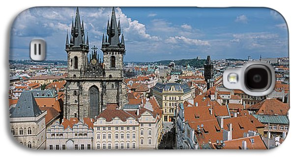 Town Square Galaxy S4 Cases - Church Of Our Lady Before Tyn, Old Town Galaxy S4 Case by Panoramic Images