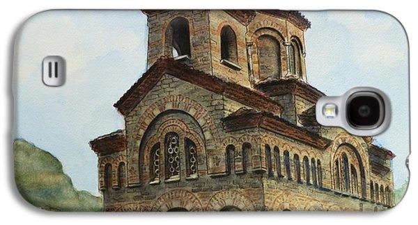 Orthodox Paintings Galaxy S4 Cases - Church of St Demetrius of Thessaloniki Veliko Tarnovo Bulgaria Galaxy S4 Case by Henrieta Maneva