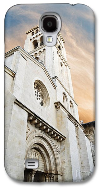 Bible Pyrography Galaxy S4 Cases - Church of the Redeemer in Jerusalem Galaxy S4 Case by Jelena Jovanovic