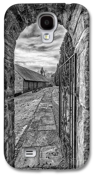 Walkway Digital Art Galaxy S4 Cases - Church Way v2 Galaxy S4 Case by Adrian Evans