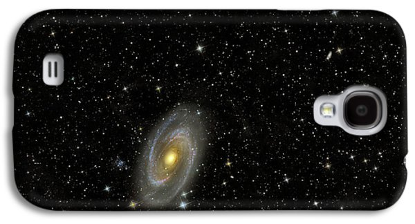 Intergalactic Space Galaxy S4 Cases - Cigar Galaxy And Bodes Galaxy Galaxy S4 Case by Reinhold Wittich